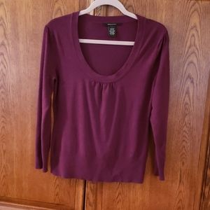 Beth and Madison L berry sweater